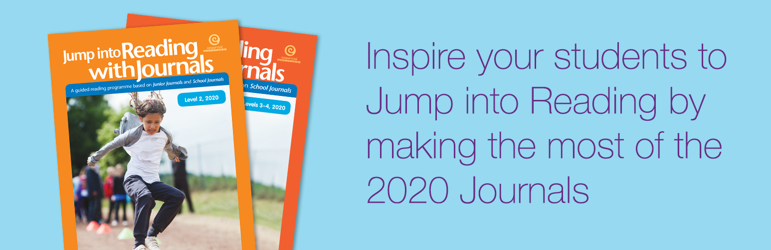 Inspire your students to Jump into Reading by making the most of the 2020 Journals