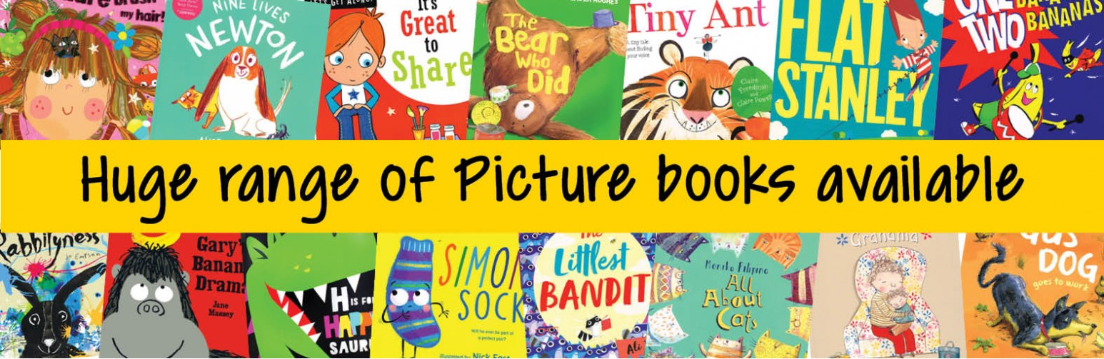 Huge range of picture books available