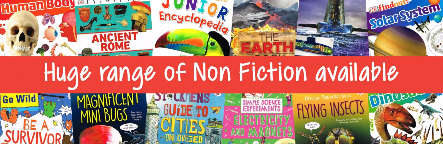 Huge range of non-ficton available