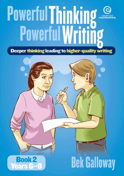 Powerful Thinking, Powerful Writing Bk 2 Yrs 5-8 Cover