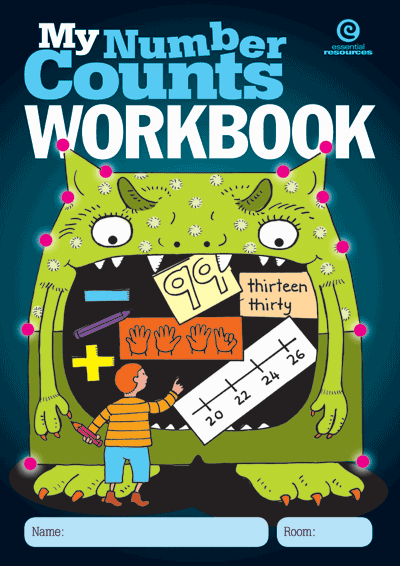 My Number Counts Workbook Cover