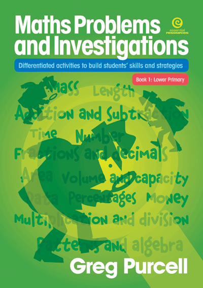 Maths Problems & Investigations: Bk 1 Lower Primary Cover