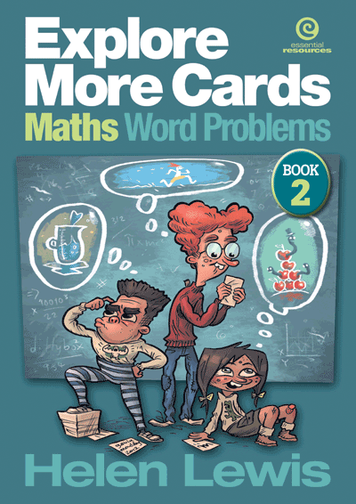 Explore More Cards - Maths Word Problems Yr 6 Cover