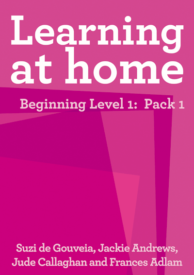Learning at Home – Beginning Level 1: Pack 1 Cover