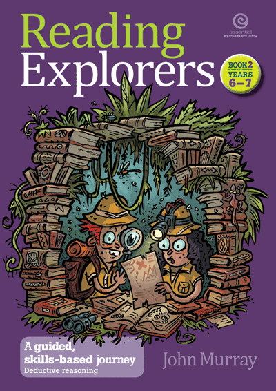 Reading Explorers Bk 2 Yrs 6-7 Cover