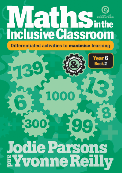 Maths in the Inclusive Classroom Yr 6 Bk 2 Cover