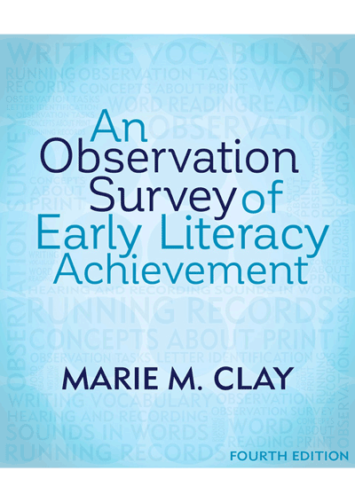 An Observation Survey of Early Literacy Achievement  4th ED Cover