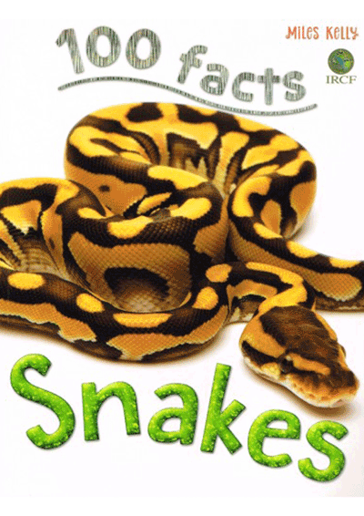 100 Facts - Snakes Cover