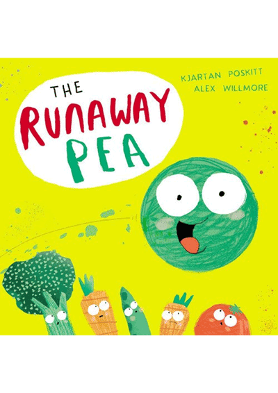 The Runaway Pea Cover
