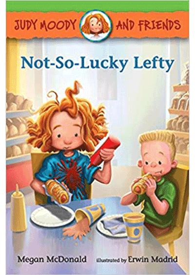 Judy Moody, Not-So-Lucky Lefty Cover