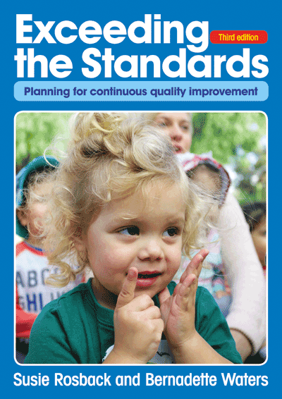 Exceeding the Standards - Third edition Cover
