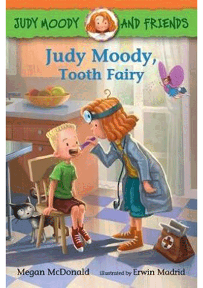 Judy Moody, Tooth Fairy Cover