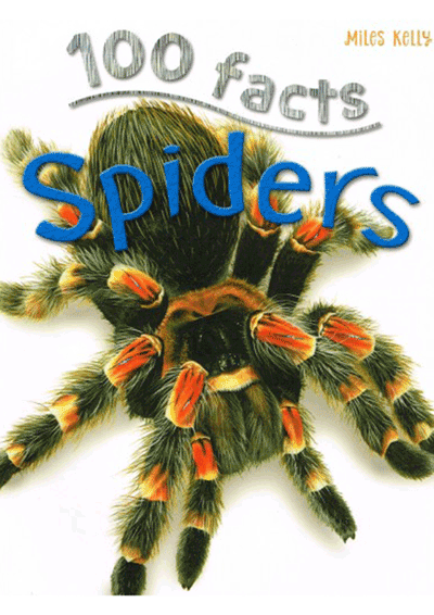 100 Facts - Spiders Cover