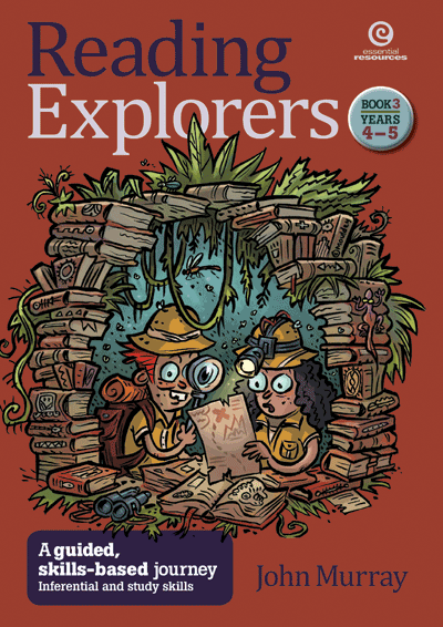Reading Explorers Bk 3 Yrs 4–5: Inferential study skills Cover