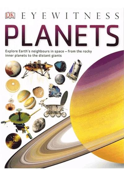 DK Eyewitness - Planets Cover