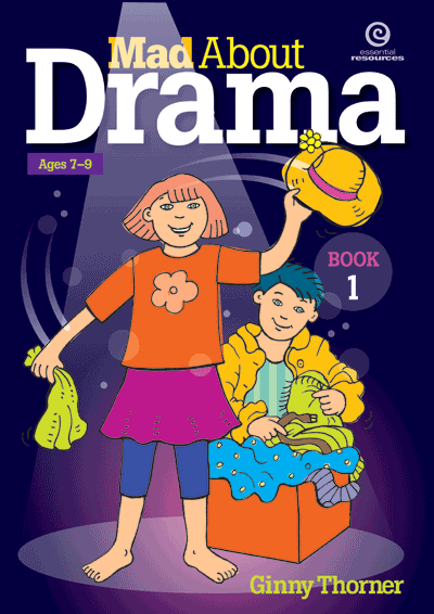 Mad About Drama: Bk 1 Cover