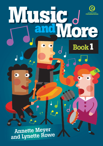 Music and More: Bk 1 & Digital Music Files Cover