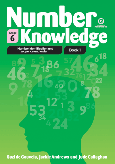 Number Knowledge: Number identification (Stage 6) Cover