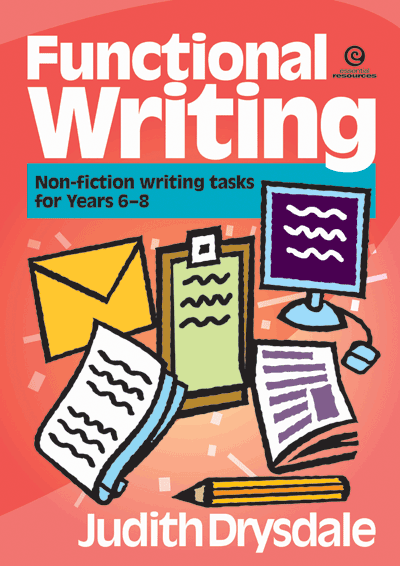 Functional Writing: Non-fiction Yrs 6-8 Cover