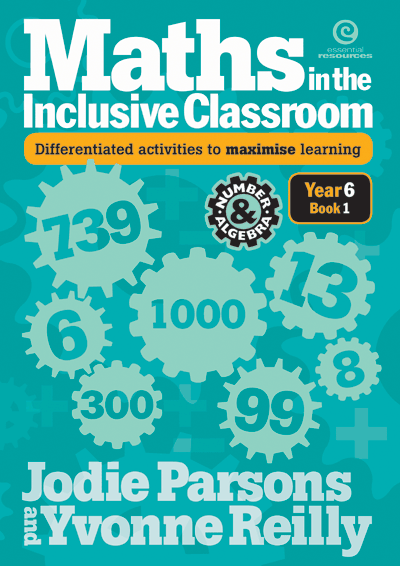 Maths in the Inclusive Classroom Yr 6 Bk 1 Cover