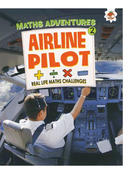 Math Adventures Airline Pilot Cover