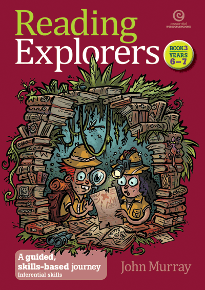 Reading Explorers Bk 3 Yrs 6-7 Cover