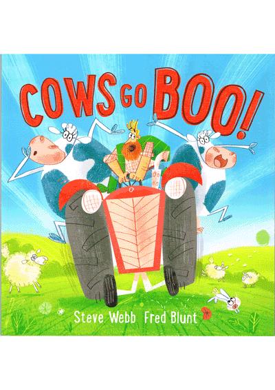 Cows go Boo Cover