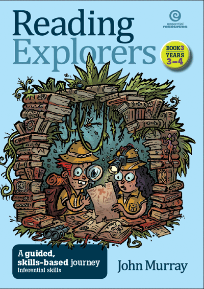 Reading Explorers Bk 3 Yrs 3–4: Inferential and study skills Cover