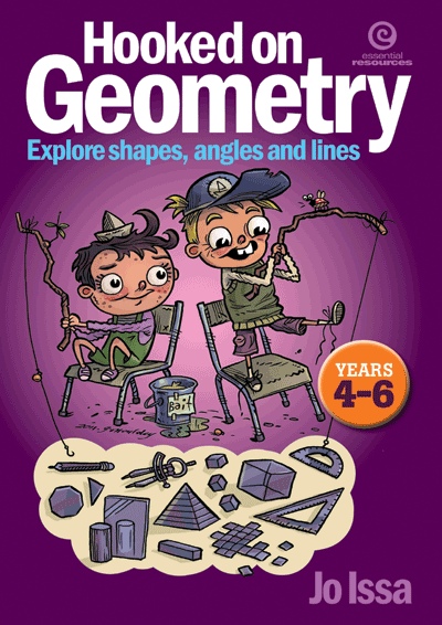 Hooked on Geometry Yrs 4–6 Cover