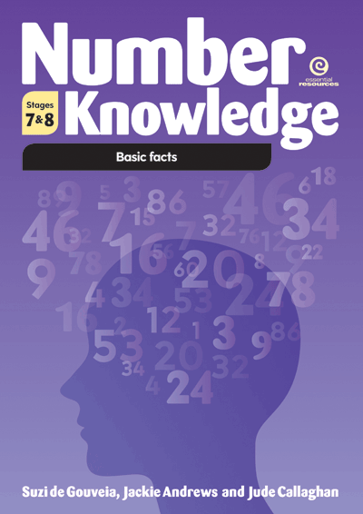 Number Knowledge: Basic facts (Stages 7 & 8 ) Cover
