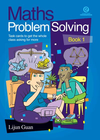 Maths Problem Solving: Task cards Bk 1 Cover