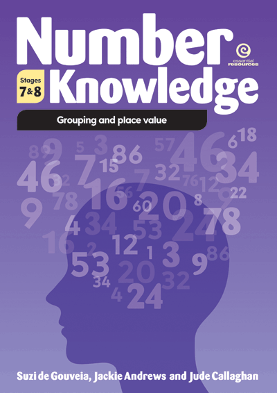 Number Knowledge: Grouping and place value (Stages 7 & 8) Cover