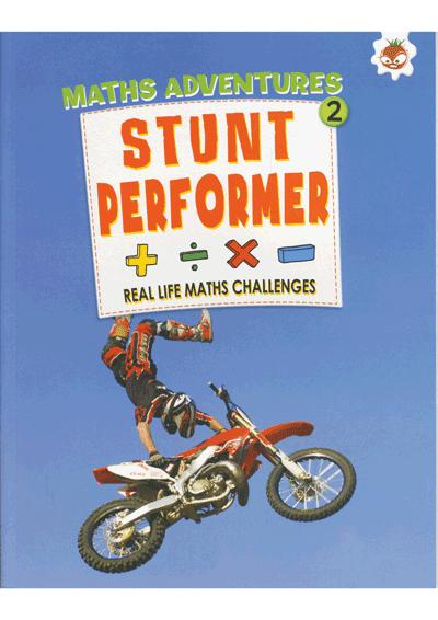 Math Adventures Stunt Performer Cover