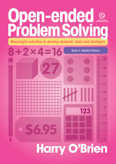 Open-ended Problem Solving: Bk 2 Middle Primary Cover