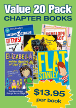 Chapter Book Variety Pack – 20 assorted books