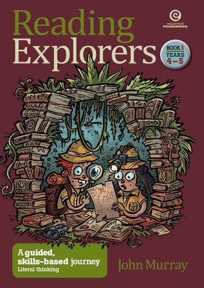 Reading Explorers Bk 1 Yrs 4–5: Literal thinking Cover