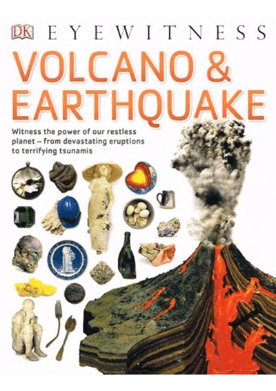 DK Eyewitness - Volcano & Earthquake Cover