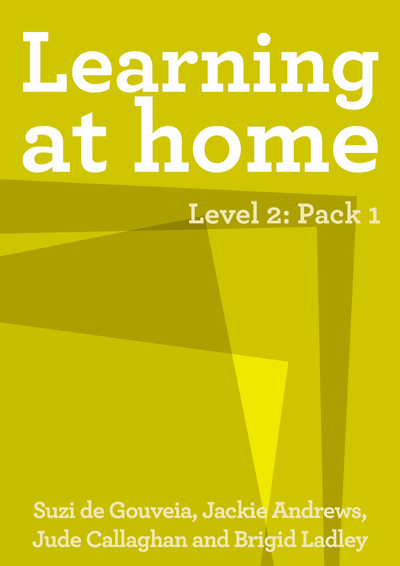 Learning at Home – Level 2: Pack 1 Cover
