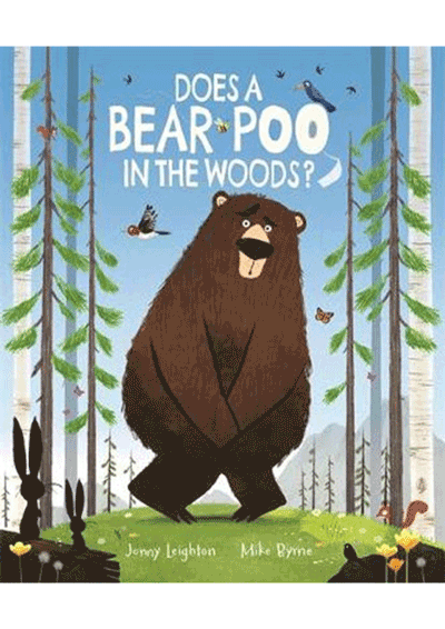 Does a Bear Poo in the Woods Cover