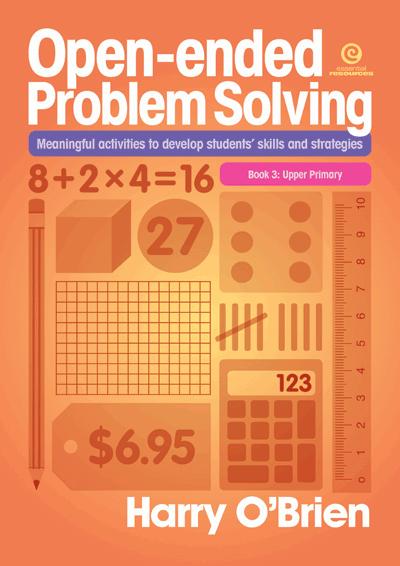 Open-ended Problem Solving: Bk 3 Upper Primary Cover