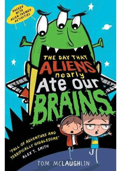 The Day that Aliens nearly ate our brains Cover