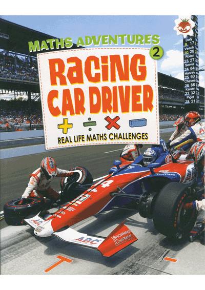 Math Adventures Racing Car Driver Cover