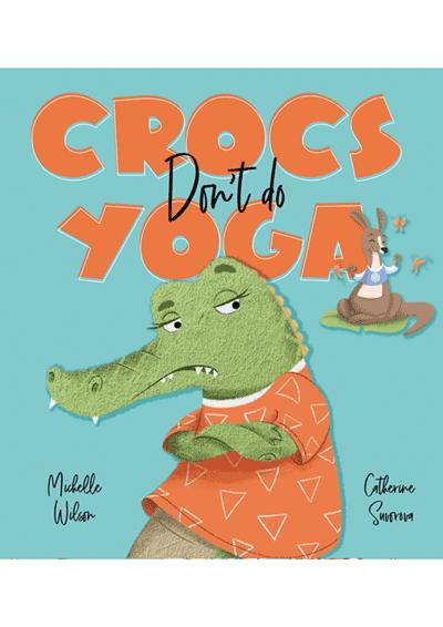 Crocs Don't do Yoga Cover