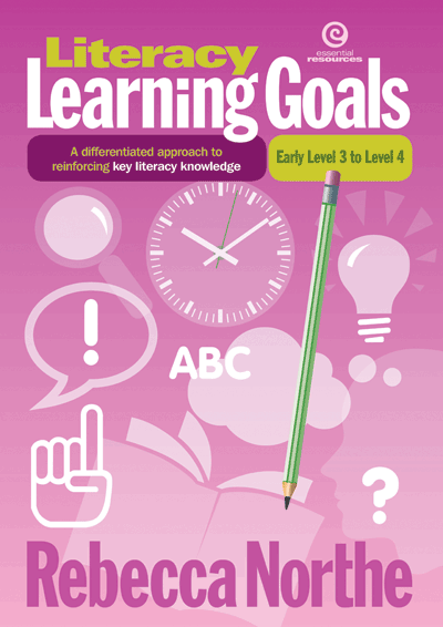 Literacy Learning Goals Early Level 3 to Level 4 Cover