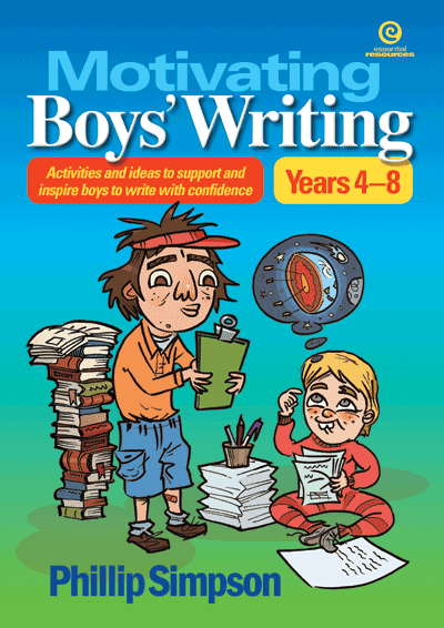 Motivating Boys' Writing Cover