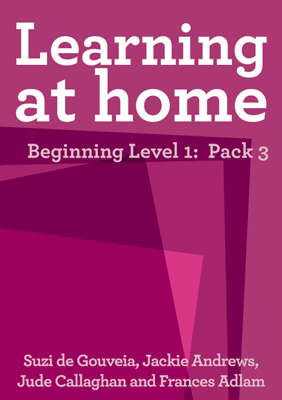 Learning at Home – Beginning Level 1: Pack 3 Cover
