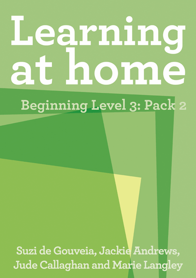 Learning at Home – Beginning Level 3: Pack 2 Cover