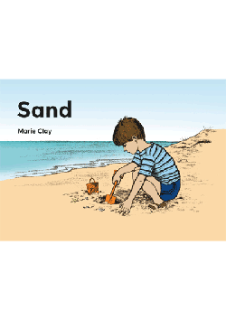 Concepts About Print: Sand