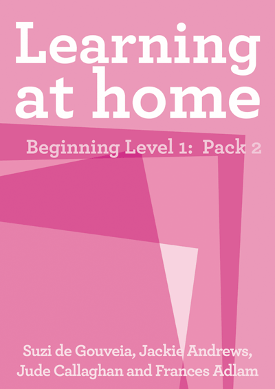 Learning at Home – Beginning Level 1: Pack 2 Cover