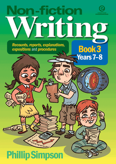 Non-fiction Writing in Yrs 7-8 Cover